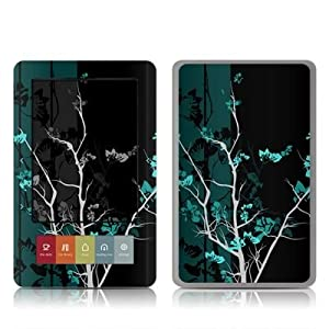 Aqua Tranquility Design Protective Decal Skin Sticker for Barnes and Noble NOOK (Black and White LCD) E-Book Reader - High Gloss Coating