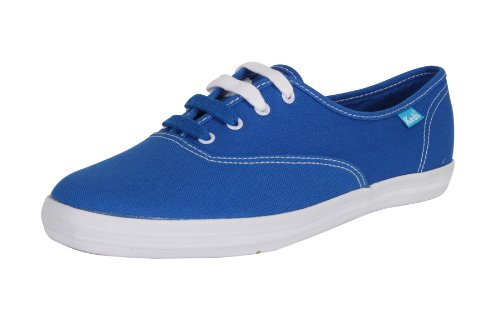 Keds Scrapbook World CVO Fr Blue Damen Schuhe Sneakers Freizeitschuhe Sportschuhe Turnschuhe Low Canvas Für Frauen Blau Größe D 39.5 UK 6