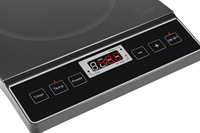 Chefs Star 1800W Portable Induction Cooktop Countertop Burner Black Digital Display