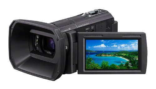 Sony HDRCX580V High Definition Handycam 20.4 MP Camcorder with 12x Optical Zoom and 32 GB Embedded Memory (2012 Model)
