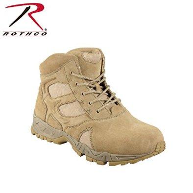 Rothco Men's 6 Inch Forced Entry Desert Tan Deployment Boot - DESERT TAN; Size: 070