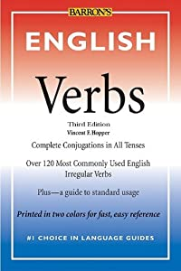 "Cover of ""English Verbs"""