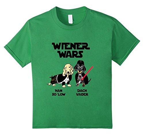 Kids Wiener Wars Dachshund TShirt