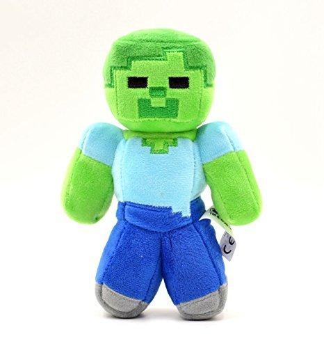 【Minecraft】ゾンビ ぬいぐるみ(約17cm)/マインクラフト ゲーム PC ブロック キャラクター [並行輸入品]