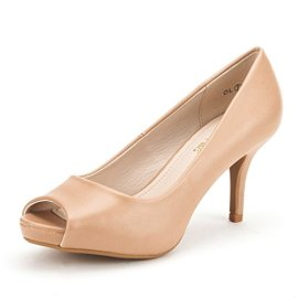 DREAM-PAIRS-OL-Womens-Elegant-Classic-Open-Toe-Low-Heel-Wedding-Party-Platform-Peep-Toe-Pumps-Shoes