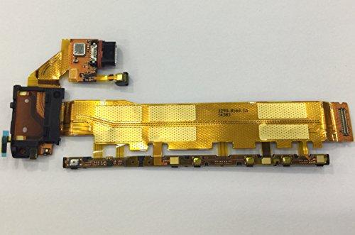 Sony Xperia Z4 ボリューム / ミュート / パワースイッチ コネクタ フレックス ケーブル 修理部品 交換パーツ 4G版