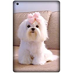 Cute Maltese Dog Pet Mobile Phone Skin Case Cover For Ipad Mini/Mini 2/Mini 3