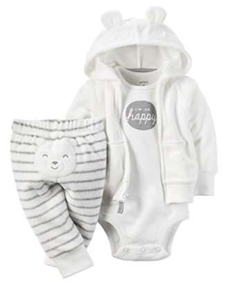 Carters-Baby-Boys-3-Piece-Terry-Cardigan-Set-Baby-White-NB
