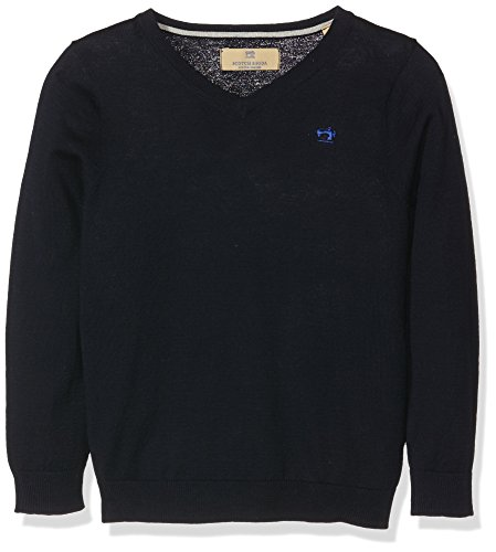 Scotch Shrunk Jungen Pullover Basic V-Ausschnitt