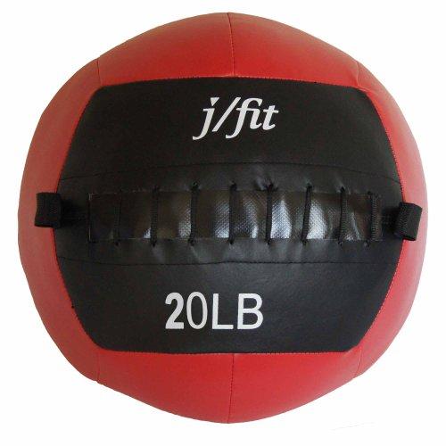 j/fit Medicine Ball Red /Black, MAX