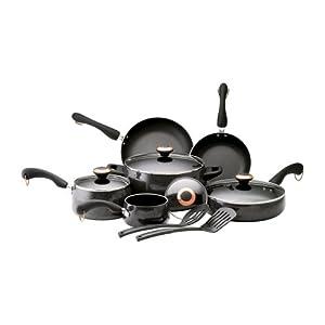 Paula Deen Porcelain 12-Pc. Cookware Set Multiple Colors Available