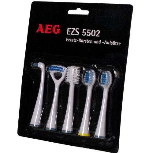 AEG EZS 5502 - 5-tlg. Ersatz-Aufsätze Blisterpack