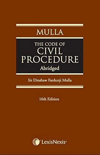 The Code Of Civil Procedure (Abridged)