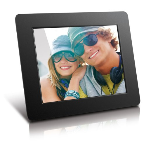 Aluratek ADPF08SF 8-Inch Digital Photo Frame