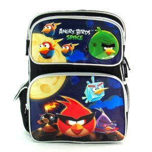 Angry Birds Space 16 Large Backpack