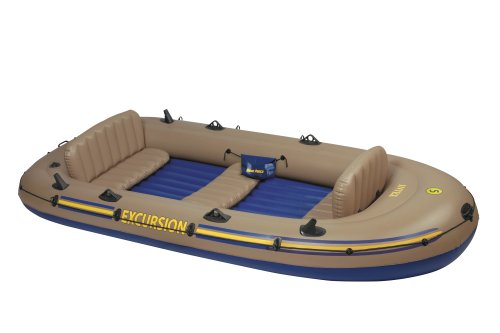 5 Excursion Boat Intex Floor