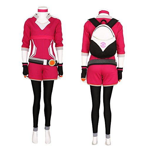 Women's Pokemon Go Trainer Hoodie Team Valor Instinct Mystic Cosplay Costume Medium
