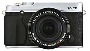 FUJIFILM デジタルカメラミラーレス一眼 X-E2ズームレンズキット シルバー F X-E2S/1855KIT