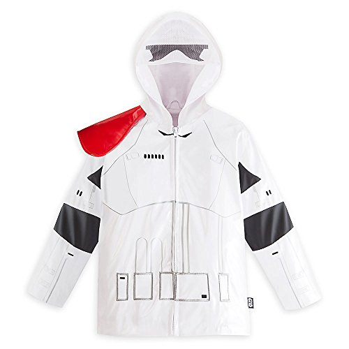Disney Store Star Wars Stormtrooper Raincoat Size Medium 7/8