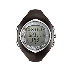 Polar F6 Women's Heart Rate Monitor Watch (Black Diamond)
