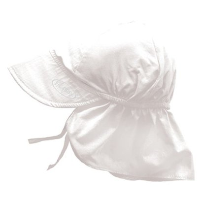 i-play-Baby-Flap-Sun-Protection-Swim-Hat-White-9-18-Months