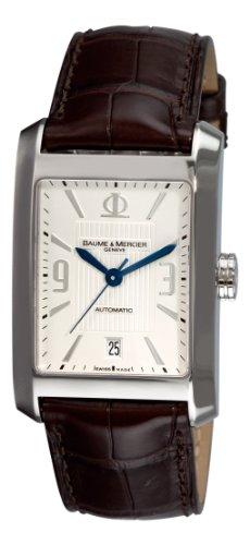 Baume & Mercier Men's 8822 Hampton Classic Automatic Silver Guilloche Dial Watch