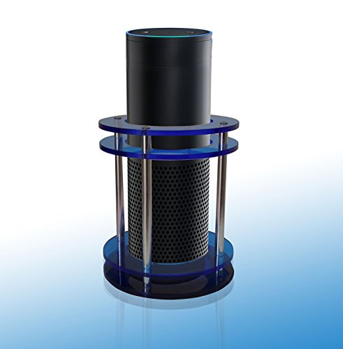 Amazon Echo Speaker Guard Stand Blue Acrylic Crafted Fall ...