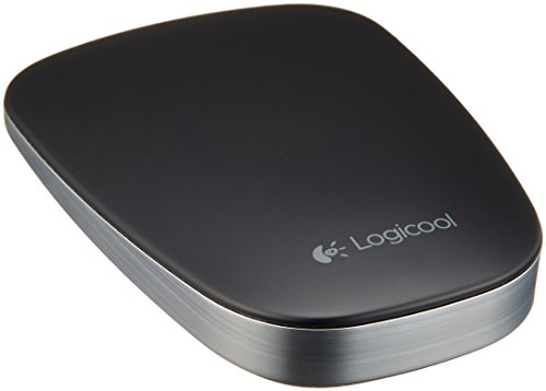 LOGICOOL ロジクール Bluetooth ウルトラスリム タッチマウス ブラック T630BK
