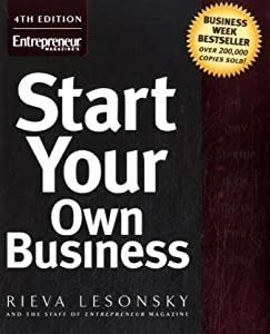 "Cover of ""Start Your Own Business"""