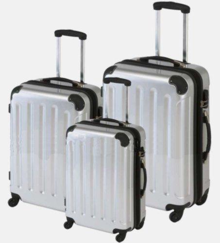 top trolley koffer 75 63 56cm xxl light 4 rollen 360. Black Bedroom Furniture Sets. Home Design Ideas