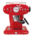 Francis Francis for Illy 216556 X1 iperEspresso Machine, Red