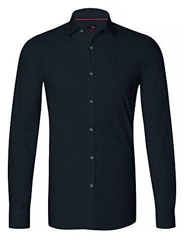 CINQUE Herren Businesshemd Slim Fit dunkelblau 40/M