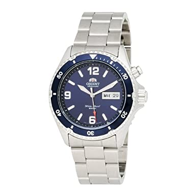 Orient Men's CEM65002D 'Blue Mako' Automatic Dive Watch