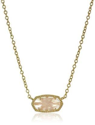 Kendra-Scott-Signature-Elisa-Gold-plated-Rose-Quartz-Pendant-Necklace