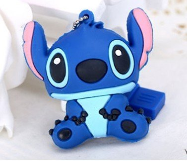 High Quality 16gb Stitch Style USB Flash Drive+gift Box keychain