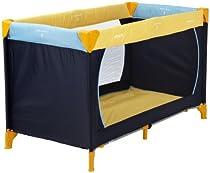 Hauck 604038 Reisebett Dream'n Play 60x120 cm yellow/blue/navy