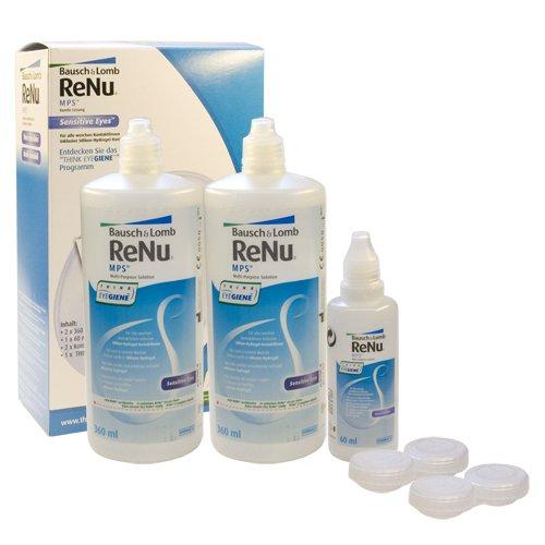 ReNu MPS (Multi Purpose Solution) Big Box Pflegemittel für Kontaktlinsen, 2 x 360ml