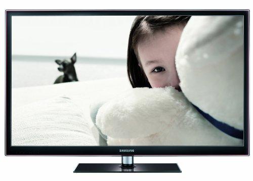 Samsung PS51D550C1WXZG 130 cm (51 Zoll) 3D-Plasma-Fernseher, Energieeffizienzklasse D (Full HD, 600Hz, DVB-T/C, CI+) schwarz