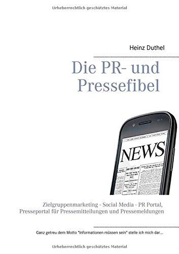 Buchcover: Die PR- Und Pressefibel