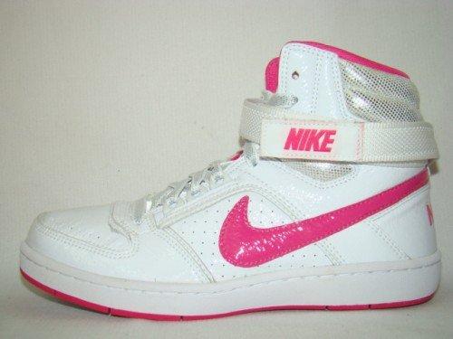 Nike Delta Lite Mid SL Sneaker weiß/pink/silber, Größe:41