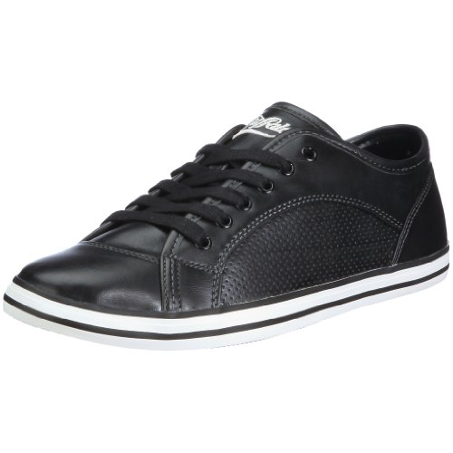 Buffalo 209-I8118 DERBY PU BLACK 01 113150, Herren, Sneaker, Schwarz (BLACK 01), EU 42