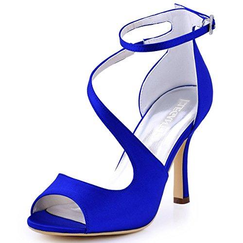 fe8e17fb3688 Ladies Royal Blue Heels Shoes Amazon Sale