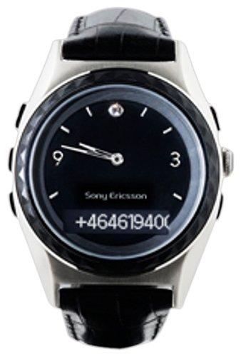 SonyEricsson MBW-200 Evening classic Bluetooth Uhr schwarz