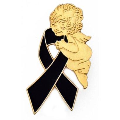 Black-Awareness-Ribbon-Religious-Spiritual-Angel-Pin