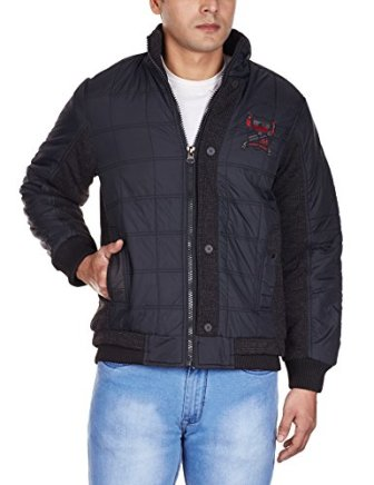 Fort Collins Men's Nylon Jacket (94466_X-Large_Black)