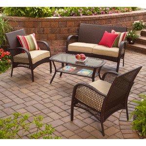 amazon outdoor patio furniture Amazon.com : INDOOR/OUTDOOR PATIO FURNITURE ALL WEATHER