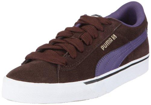 Puma Puma SE Vulc 352670, Unisex - Erwachsene, Sneaker, Braun (black coffee-mulberry purple 04), EU 42.5 (UK 8.5) (US 9.5)