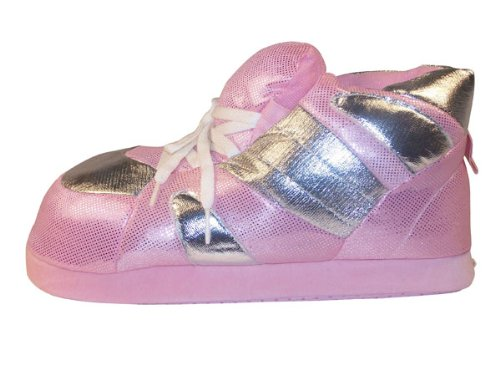 Happy Feet - Pink Sequin - Slippers