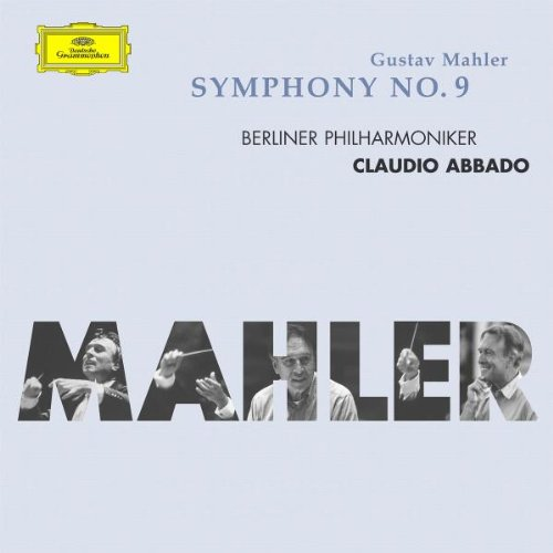 Cover art of the Mahler 9 recording by Claudio Abbado with the Berlin Philharmonic.