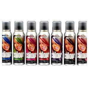 smart beauty smart colour temporary spray hair color dark pink chemical hair dyes